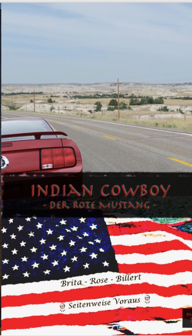 "Cover Indian Cowboy – Band 3 ""Der rote Mustang"""